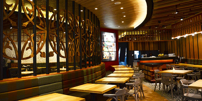 Interior of Siam Kitchen (Lot 1) in Choa Chu Kang, Singapore