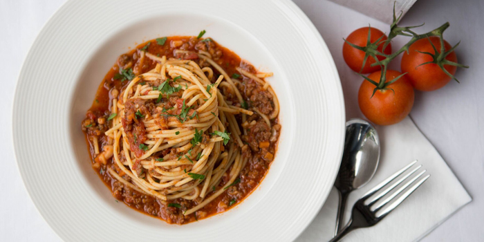 Spaghetti Bolognese from Little House of Dreams in Dempsey, Singapore