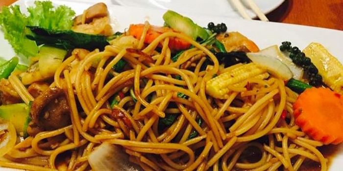 Spaghetti Ki Mao from The Wok on Patong Road, Phuket
