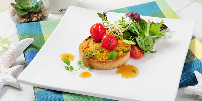 Spiced Potato and Bacon Tartlet, The Boathouse, Stanley, Hong Kong