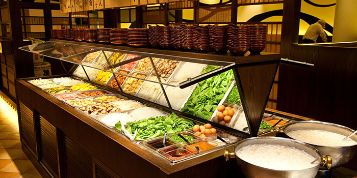Healthy Bar from Suki-Ya (Bukit Panjang Plaza) in Choa Chu Kang, Singapore