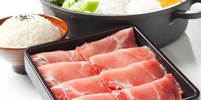 Pork Set from Suki-Ya (Tampines Mall) in Tampines, Singapore