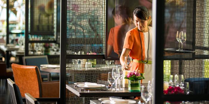 Table Set from Mosaic at Phuket Panwa Beachfront Resort, Phuket