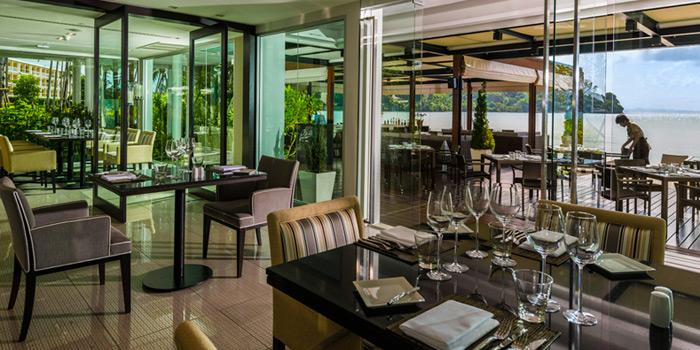 Tables Set from Patio Al Fresco at Phuket Panwa Beachfront Resort, Phuket