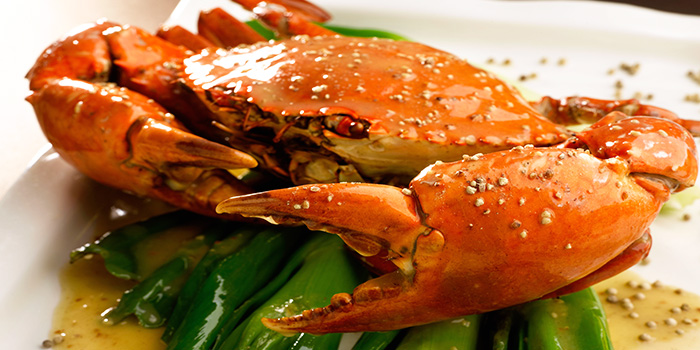 White Pepper Crab from TAO Seafood Asia in Asia Square in Raffles Place, Singapore