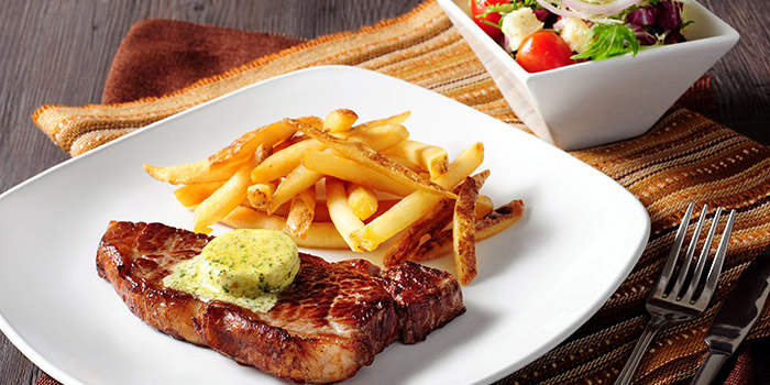 US Sirloin Steak, Pickled Pelican, Stanley, Hong Kong