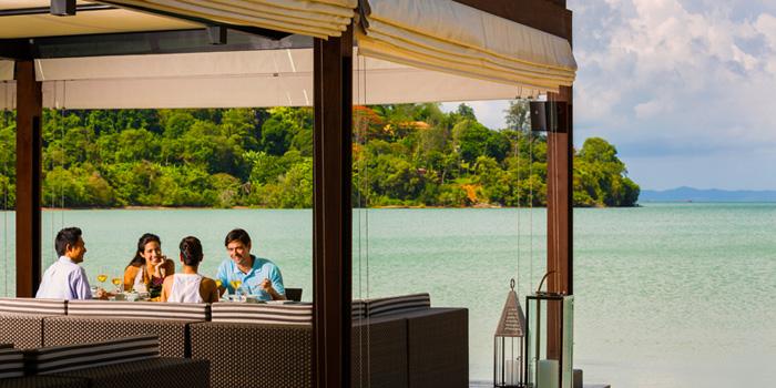 View from Patio Al Fresco at Phuket Panwa Beachfront Resort, Phuket