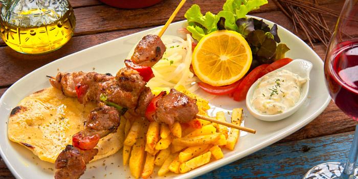 Xoirino Souvlaki from AVRA Authentic Greek Restaurant in Sukhumvit Soi 33, Bangkok