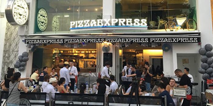 Exterior of PizzaExpress Stanley, Stanley, Hong Kong
