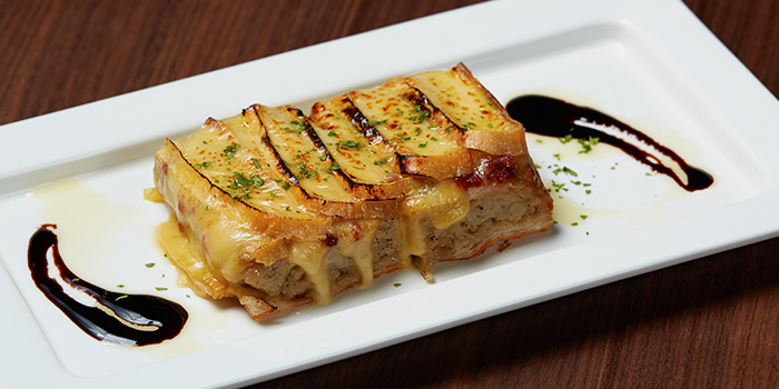 Baked Eggplant with Melted Cheese from 13% Gastro Wine @ Aliwal in Bugis, Singapore