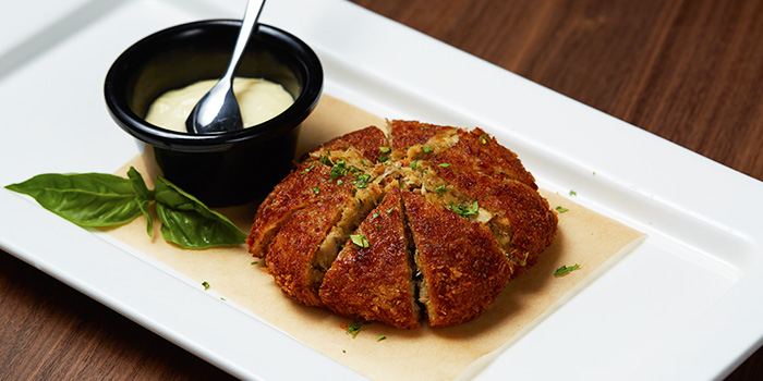 Crab Cake from 13% Gastro Wine @ Kiliney in River Valley, Singapore