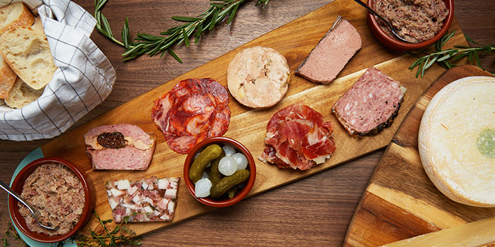 Cold Cuts Platter from 13% Gastro Wine @ Kiliney in River Valley, Singapore