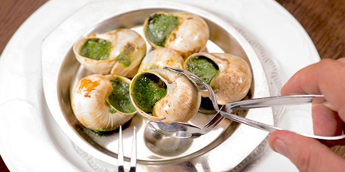 Burgundy Snails from Brasserie Gavroche on Tras Street in Tanjong Pagar, Singapore