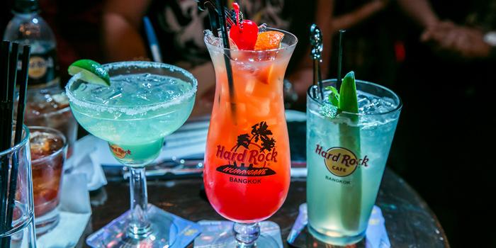 Beverages  from Hard Rock Cafe Bangkok in Siam Square Soi 11, Bangkok
