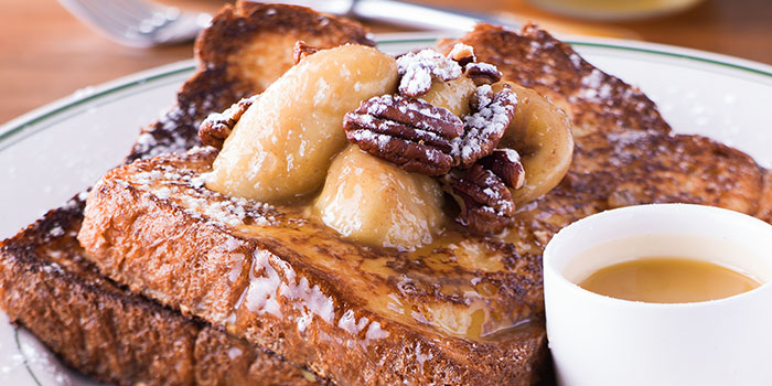 French Toast from Clinton Street Baking Company in Bugis, Singapore