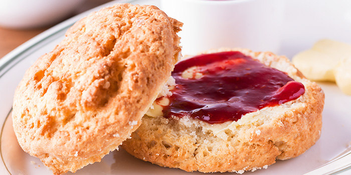 Scones from Clinton Street Baking Company in Bugis, Singapore