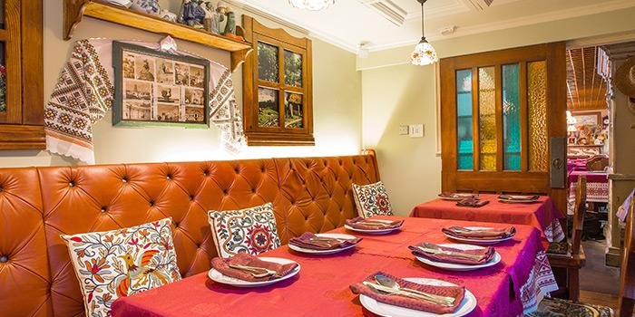 Dining Area of Ivan The Kozak, Central, Hong Kong