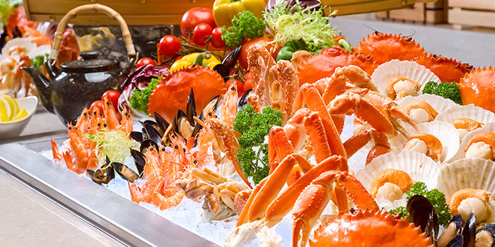 Seafood on Ice from Ellenborough Market Cafe in Swissotel Merchant Court in Clarke Quay, Singapore