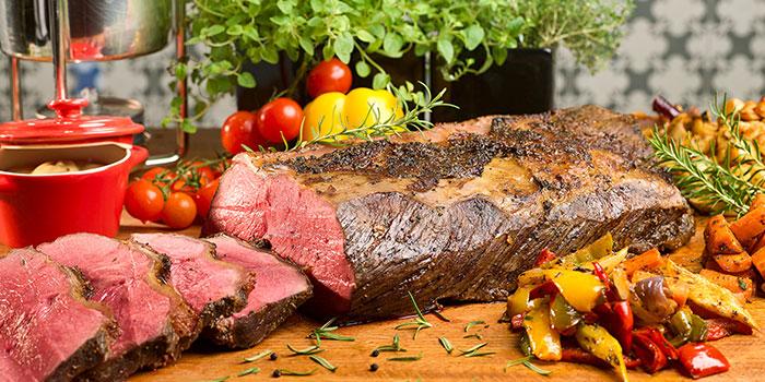 Roast Beef from Ellenborough Market Cafe in Swissotel Merchant Court in Clarke Quay, Singapore