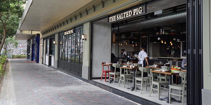 Exterior of The Salted Pig, Sai Wan Ho, Hong Kong