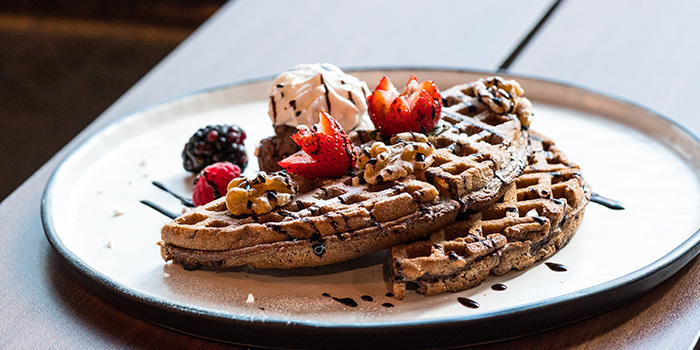 House Made Waffle, Lo Spazio, Causeway Bay, Hong Kong