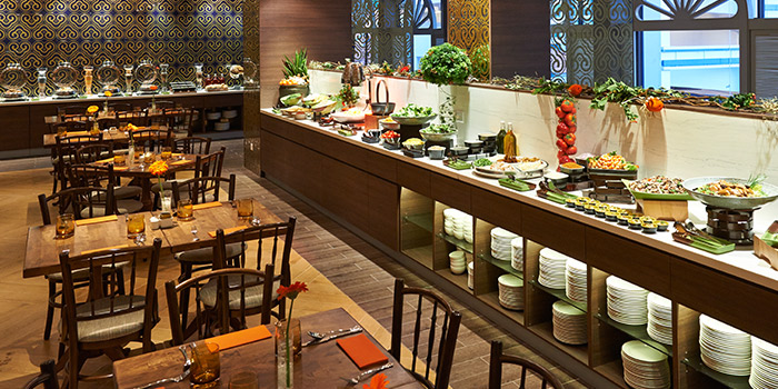 Interior of Katong Kitchen at Village Hotel Katong in East Coast, Singapore