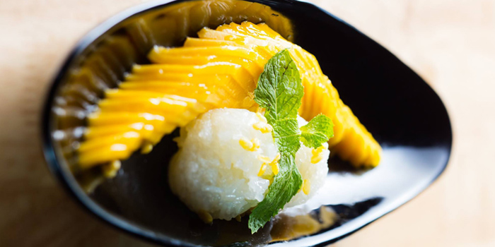 Mango Sticky Rice from Osha Cafe at Asiatique the Riverfront, Bangkok