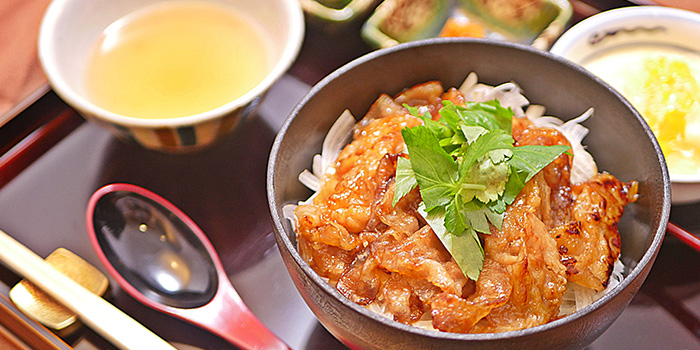 Chicken Set from Nabe Seizan in Wisma Atria Shopping Centre in Orchard Road, Singapore