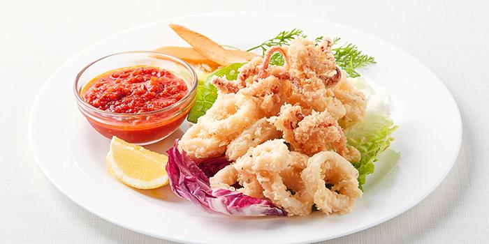 Calamari from Pasta Fresca Da Salvatore (Boat Quay) in Boat Quay, Singapore