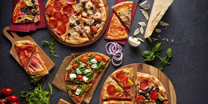 Pizza Selection from Pasta Fresca Da Salvatore (Boat Quay) in Boat Quay, Singapore