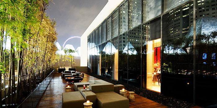 Alfresco Area of Rang Mahal at Pan Pacific Hotel in Promenade, Singapore