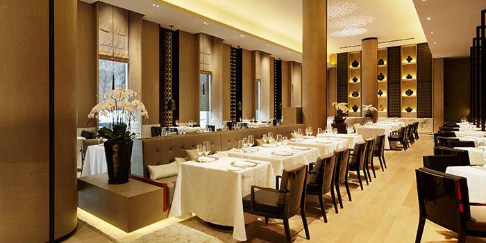 Dining Hall of Rang Mahal at Pan Pacific Hotel in Promenade, Singapore