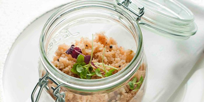 Quinoa Upma from Rang Mahal at Pan Pacific Hotel in Promenade, Singapore