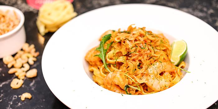 Prawn & Hae Bi Hiam Pasta from REDPAN at Marina Square in Promenade, Singapore