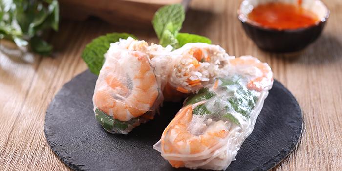 Rice Paper Shrimp Rolls, Viet Lime Café & Restaurant, Tseung Kwan O, Hong Kong
