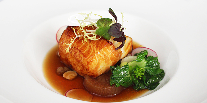 Roasted Black Cod from Shutters at Amara Sanctuary in Sentosa, Singapore
