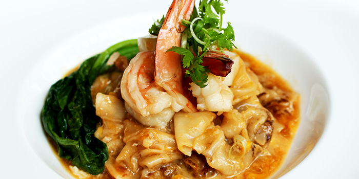 Seafood Hor Fun from Shutters at Amara Sanctuary in Sentosa, Singapore