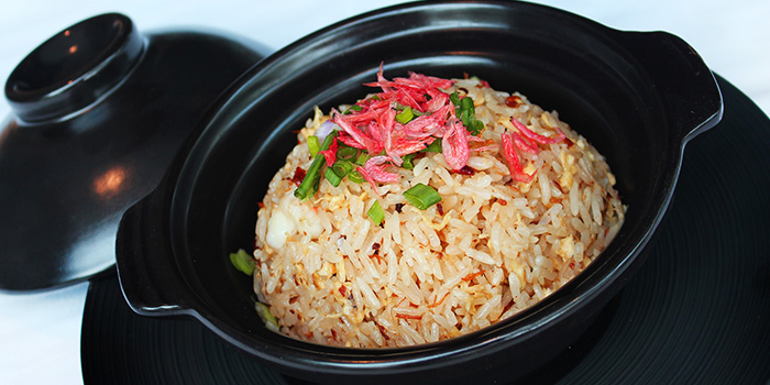 XO Fried Rice from Shutters at Amara Sanctuary in Sentosa, Singapore