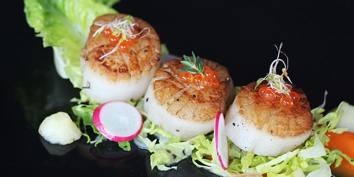 Scallops from Spruce Fire Station serving American cuisine at Upper Bukit Timah in Singapore