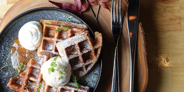 The Breakfast Waffle from Symmetry in Bugis, Singapore