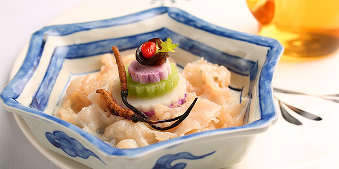 Seafood with Vegetables from Tóng Lè Private Dining at OUE Tower in Raffles Place, Singapore