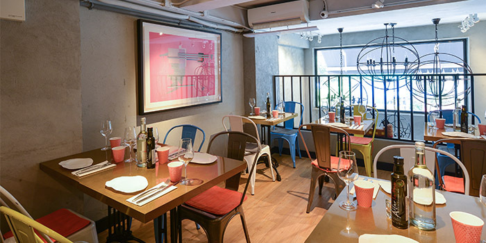 Interior, Timon Seafood, Wan Chai, Hong Kong