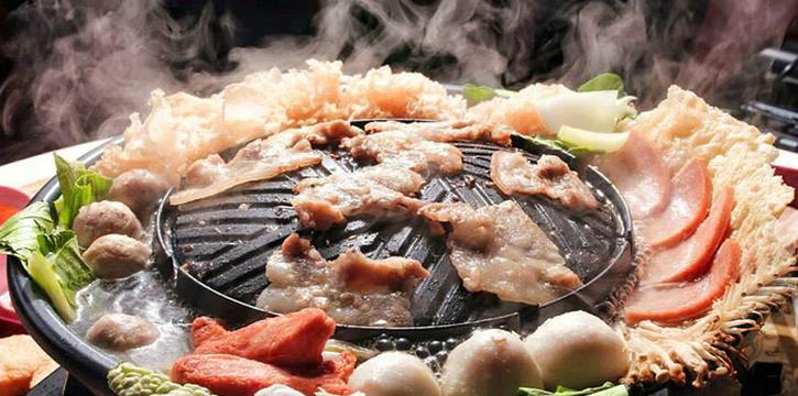BBQ Plate from Siam Square Mookata (Golden Mile Tower) in Bugis, Singapore