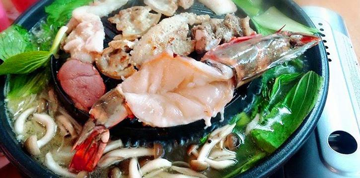 Seafood from Siam Square Mookata (Golden Mile Tower) in Bugis, Singapore