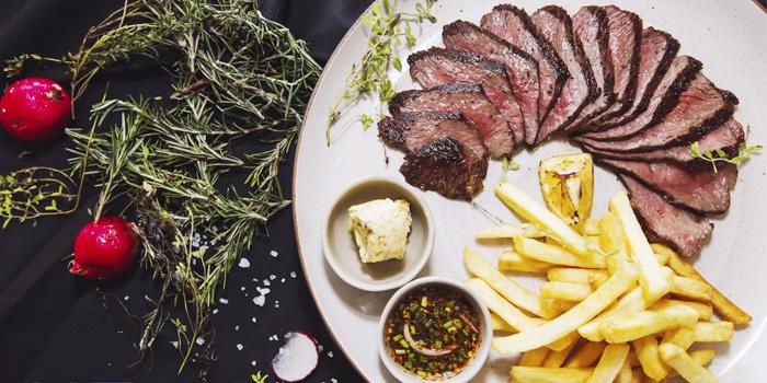 Australian Beef Rump Steak from HQ Beach Lounge on Kamala Beach, Phuket, Thailand