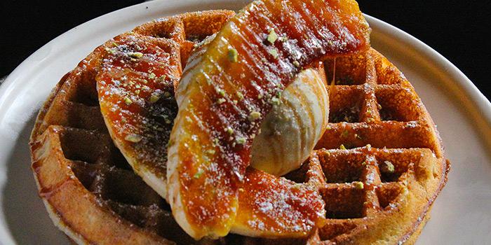 Banana Toffee Waffle from Stateland Cafe in Bugis, Singapore