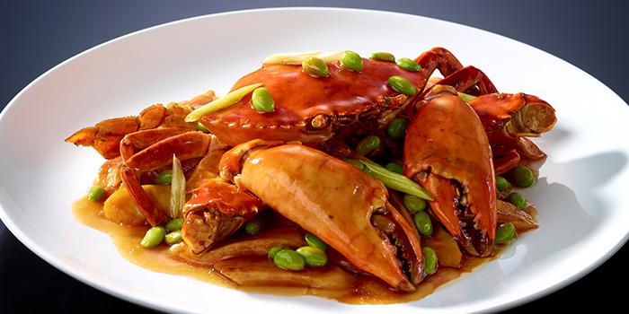 Braised Crab and Rice Flour Cakes, Crystal Jade Jiang Nan, Wan Chai, Hong Kong
