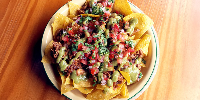 Chimi Nachos from Chimichanga in Little India, Singapore