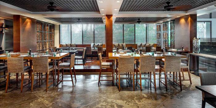 Dining Area of Oriental Spoon at Twinpalms Phuket, Phuket, Thailand
