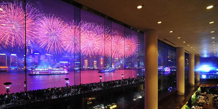 Fireworks, Harbourside, Tsim Sha Tsui, Hong Kong